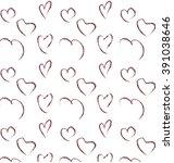 love hearts | Shutterstock .eps vector #391038646