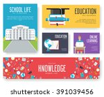 back to school information... | Shutterstock .eps vector #391039456