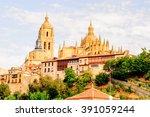 segovia  spain | Shutterstock . vector #391059244