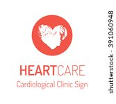 cardiological clinic vector... | Shutterstock .eps vector #391060948
