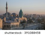 images from the mevlana museum... | Shutterstock . vector #391088458