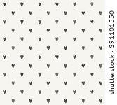 hand drawn heart pattern design.... | Shutterstock .eps vector #391101550