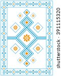 vector certificate border... | Shutterstock .eps vector #391115320