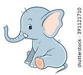vector hand drawn cartoon...   Shutterstock .eps vector #391121710
