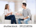 counselor. | Shutterstock . vector #391218556