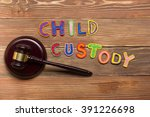 judge gavel and colourful... | Shutterstock . vector #391226698