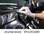 car detailing series   glass... | Shutterstock . vector #391241680