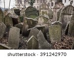 Tombstones In The Old Jewish...