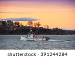 Lobster Boat Returns To...