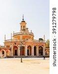 iglesia real de san antonio ... | Shutterstock . vector #391279798