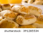 brazilian snack.chicken snacks... | Shutterstock . vector #391285534