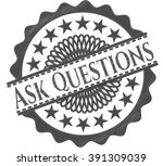 ask questions pencil effect   Shutterstock .eps vector #391309039