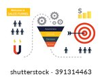 business infographics with... | Shutterstock .eps vector #391314463