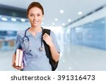 nurse. | Shutterstock . vector #391316473