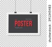 illustration of vector poster... | Shutterstock .eps vector #391345483