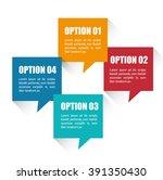 business infographic design  | Shutterstock .eps vector #391350430