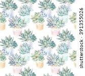 floral seamless pattern...   Shutterstock . vector #391355026