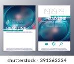 business and technology...   Shutterstock .eps vector #391363234