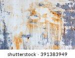 rust sheet steel background | Shutterstock . vector #391383949