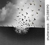 break down walls and remove...   Shutterstock . vector #391388590