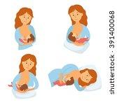 breastfeeding position mother