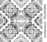 tribal seamless pattern. hand... | Shutterstock . vector #391405006
