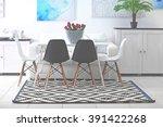 beautiful comfortable modern... | Shutterstock . vector #391422268