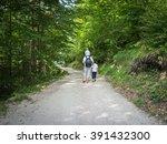 back to nature enjoy | Shutterstock . vector #391432300
