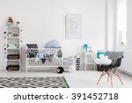 shot of a baby room full of... | Shutterstock . vector #391452718