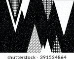 geometric ethnic pattern... | Shutterstock .eps vector #391534864