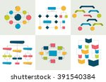 Flowcharts. Set Of 6 Flow...