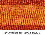 old red fire roof tiles of... | Shutterstock . vector #391550278