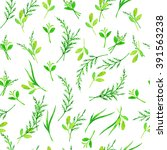 seamless pattern with hand... | Shutterstock . vector #391563238
