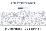 doodle vector illustration of... | Shutterstock .eps vector #391584454