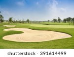 Sand Bunker On The Beautiful...