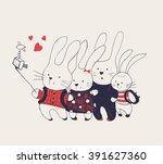 hand drawn illustration of ...   Shutterstock .eps vector #391627360