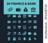 finance icons  | Shutterstock .eps vector #391638724