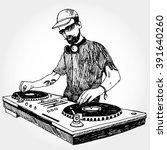 illustration of dj | Shutterstock .eps vector #391640260