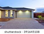 part of this luxury house... | Shutterstock . vector #391645108