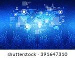 world map business background | Shutterstock . vector #391647310