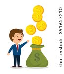 money concept design  | Shutterstock .eps vector #391657210