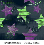 Abstract Seamless Pattern For...