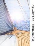 sailboat  sailing | Shutterstock . vector #391689460