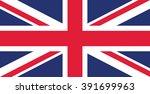 the british flag   Shutterstock .eps vector #391699963