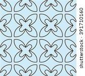 vector seamless pattern.... | Shutterstock .eps vector #391710160