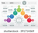 part of the report with logo... | Shutterstock .eps vector #391714369