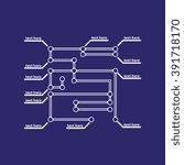 modern infographic template. | Shutterstock . vector #391718170