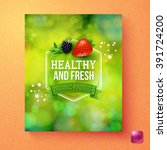 Green Themed Healthy And Fresh...