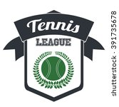 tennis league design  | Shutterstock .eps vector #391735678