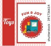 children toys design  | Shutterstock .eps vector #391736614